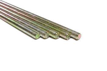Yellow zinc stainless steel threaded rod astm