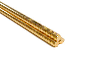 Brass threaded rod bsw galvanized
